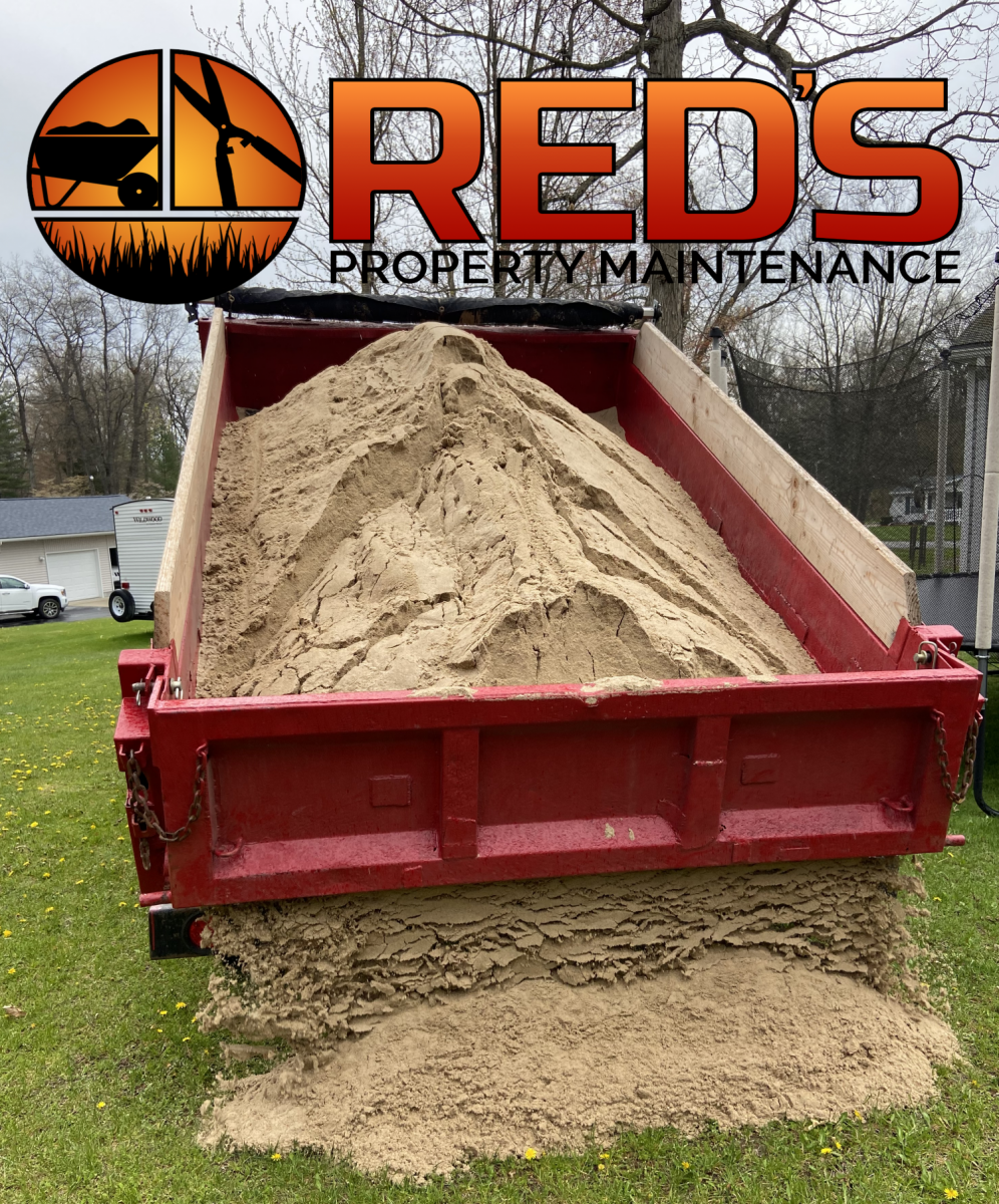 pool sand delivery